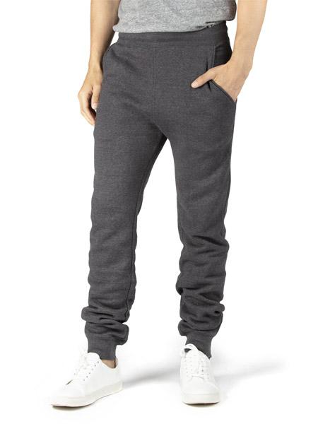 gray jogging pants